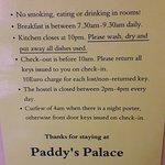 Foto de Paddy's Palace