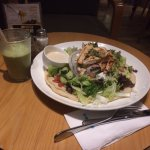 Chicken Salad with Avocado Smoothie