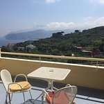 Excellent views over Sorrento