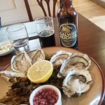 oysters and Galway hooker beer