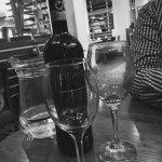£31 Chianti Classico - un-matching wine glasses!
