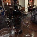 £31 for Chianti Classico - un-matching wine glasses!