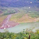 Photo of Mount Galunggung