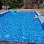 Relax in our outdoor heated pool.