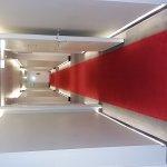 Flurbereich, Fahrstuhl-Innenbereich der Bodenbelag.