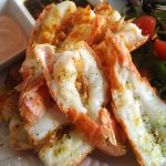 The grilled langoustine