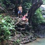 stop 1 - rope swing