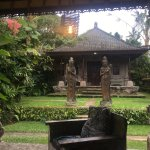 View from the porch of Sita. A magical spot to sip lemongrass ginger tea and listen to the quiet