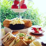 Our wonderful cream teas.