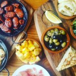 Tapas, that make you feel hungry.