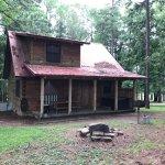 Back of cabin