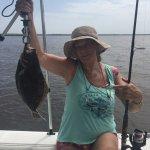 My birthday flounder!!