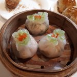 Dimsum lunch. Would have been faultless if the yam croquettes were hot.