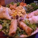 Assiette asiatique pour deux personnes