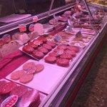 Carnicería del supermercado