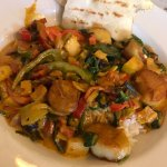 curry with scallops