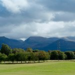 View of the Cairngorms from the Clubhouse