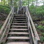 143 stairs up to Fort Holmes.