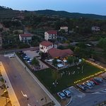 Vista Drone al tramonto