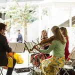Summer music at the LDO bandstand