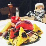 Salade de Legumes Grillés & Polenta