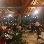 Sala interna ristorante.