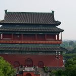 Drum Tower as seen from the Bell Tower
