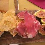 Prosciutto with figs