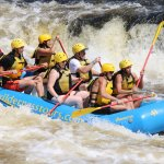 this was the second rapids we came to and did this rapid a few times - This photo was taken mome
