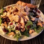 Cranberry Chicken Cashew Salad - best salad I've ever had in my life; no exaggeration.