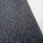 Carpet covered in dog hair