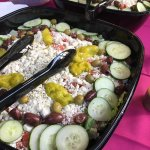 Lebanese Salad Tray for catering