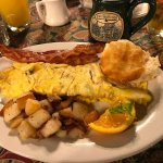 Western Omelette with side of bacon