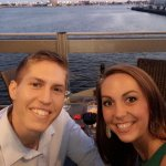 Anniversary dinner on the water at Del Frisco's!