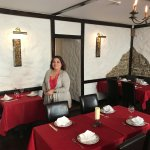 Inside Golden Dragon Restaurant