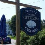 Trevett Store on a beautiful June day