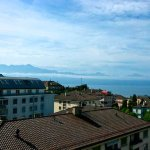 Lac Leman from room 502
