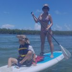 My lil one has been paddling with me since he was 4
