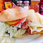 The Diner's Bacon Pepper Jack Burger