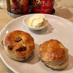 Afternoon scones, cream & Jam perfect with a double expresso and good company and friendly staff