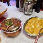 Beef Vindaloo and Malay Kofta