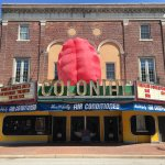 The Colonial, decked out for Blobfest 2017.