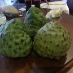 Fresh Cherimoyas 3 blocks from hotel