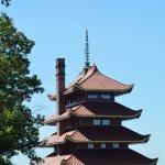 The pagoda on top of Mount Penn in Reading Pa.