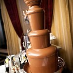 Chocolate Fountain at the reception
