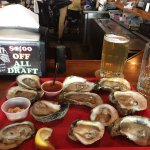 Sit at the oyster bar if possible