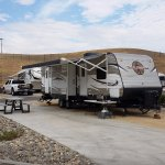 Site 203 at the campground