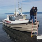 Boat Disembarkation at Kachemak Bay Wilderness Area