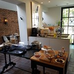 Küche/Frühstückszimmer innen