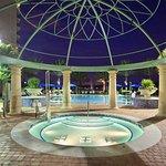 Quiet pool hot tub